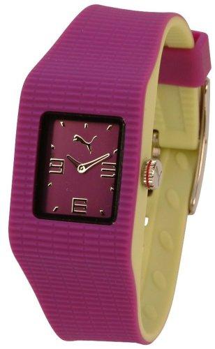PUMA TIME PU202PR.0036.906 - Orologio da polso unisex, cinturino in plastica colore violetto