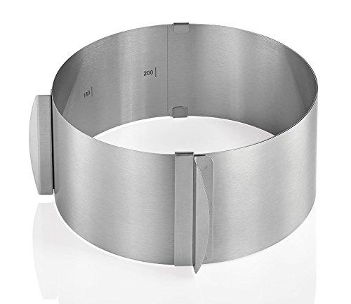 Küchenprofi 0805832800 Tortenring verstellbar, rund