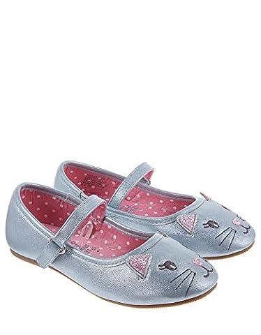 Monsoon Chloe Cat schimmernde Ballerinas - Schuhe 25