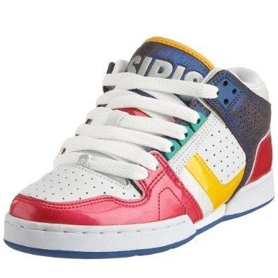 Osiris Skateboard Shoes --South Bronx Girls- White Pink Bright 5912f65f4e2