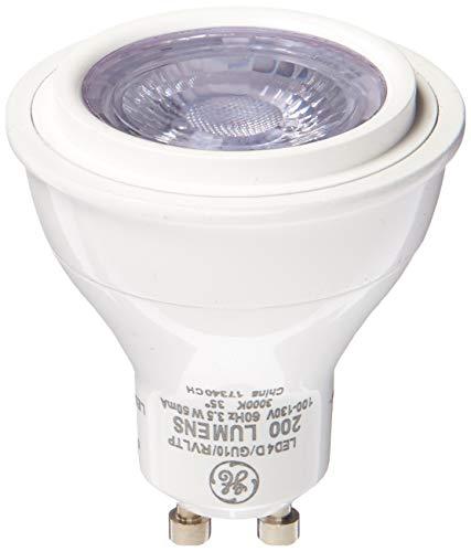 GE Lighting 45658 Reveal LED A19 Glühlampe mit mittlerem Sockel, 17 W, 1 Stück, Reveal, GU10, 3.5W 120V