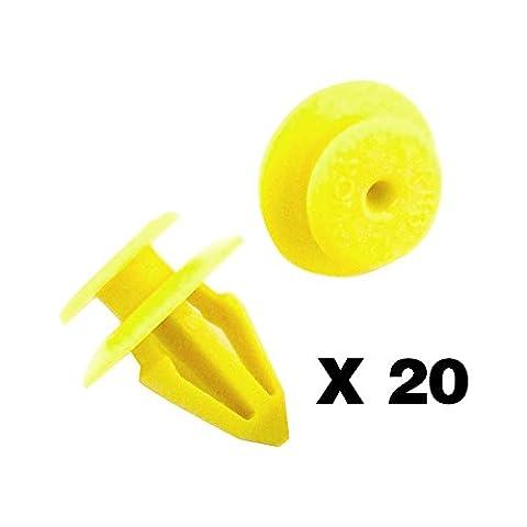 Tuqiang®Clips/Plastic Screw und Klammern 7M0867299K Türverkleidung Clips 20 Stücke (Cadillac Deville Dts)