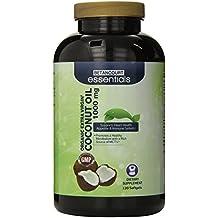 Betancourt Essentials Orgánica Aceite de Coco Virgen Extra – 120 Cápsulas Blandas