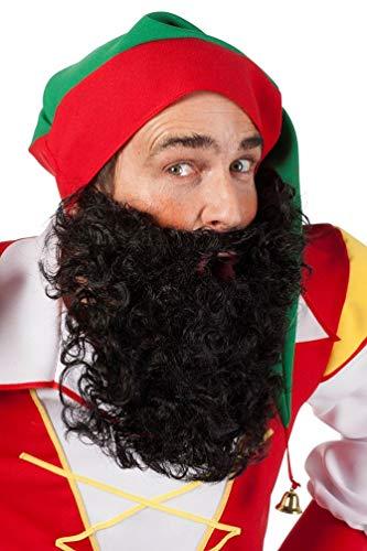 wergenbart Erwachsene schwarz Bart Zwerg-e Karneval ()