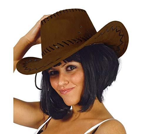 Guirca Fiestas GUI13070 - brauner Leder-Cowboyhut