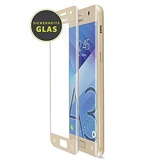 Artwizz CurvedDisplay Glass Protector for Samsung Galaxy A3 - Gold