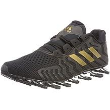 adidas Springblade PRO, Scarpe Running Uomo, Nero Cblack Gold Mt, 41 1/