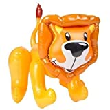 Inflatable Lion 2 Pack, Party Decoration, and Kids Fantasy Play,