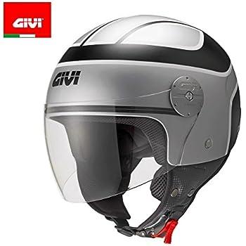 56 Givi HPS 10.7 Mini-Jet-Helm Schwarz Matt