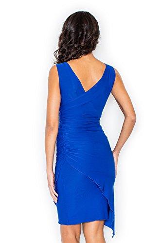 Robe de soirée style d'affaires Figl Bleu