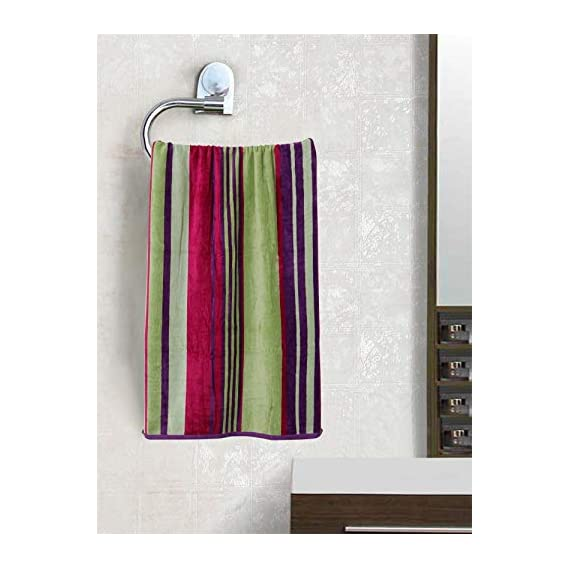 Beautiful Homes Quality 100% Cotton Soft Towel with Light Weight and Easy Dryable