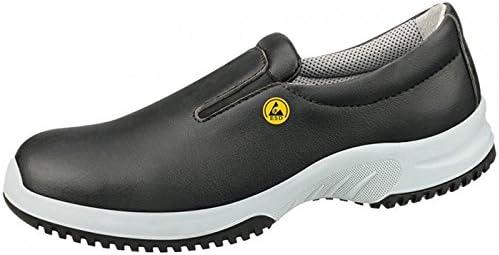 Abeba 36741-42 Uni6 calzado mocassin ESD, talla 42, color negro