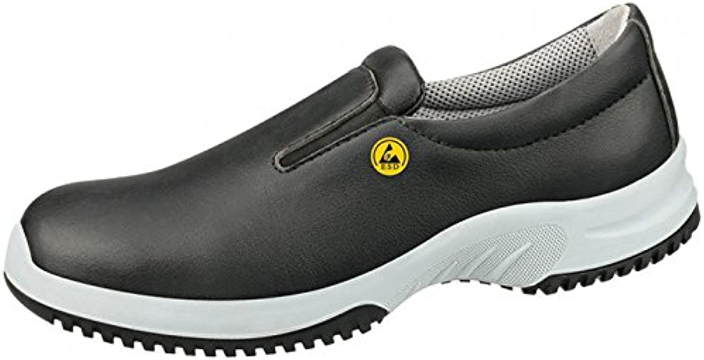Abeba 36741-46 Uni6 calzado mocassin ESD, talla 46, color negro