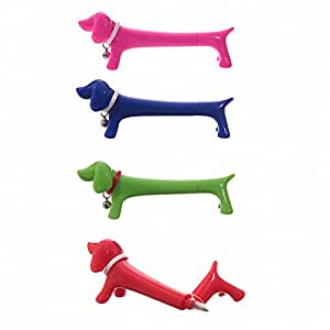 Cute Sausage Dog Pen (Colours may vary, random shipped)