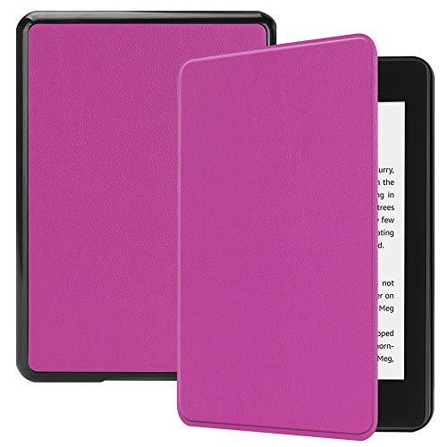 Preisvergleich Produktbild Fulltime E-Gadget Folio-Hülle Auto Sleep Cover Case / Wake Amazon Kindle Paperwhite 10. Gen 2018 (Lila)