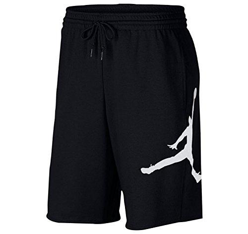 Nike Herren M J Jumpman FLC Short Sport, Black/White, XL -