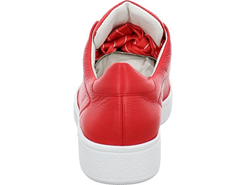 Paul Green 4575-012, Baskets Pour Femme Rouge