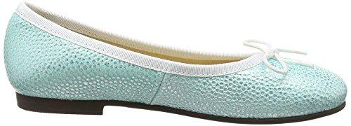 Start Rite Mädchen Emma Slingback Turquoise (Aqua Sparkle)