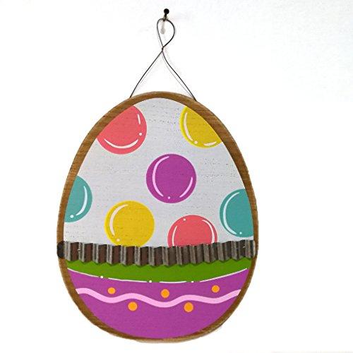 LUFA Ostern Farbe Eiform-Hangtag Zeichen-Brett-Partei Hanging Panel-DIY-Plakette Restaurants...