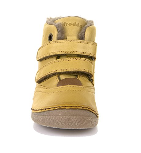 Froddo G2110053, Chaussure d'hiver petit enfant jaune moutarde (yellow)