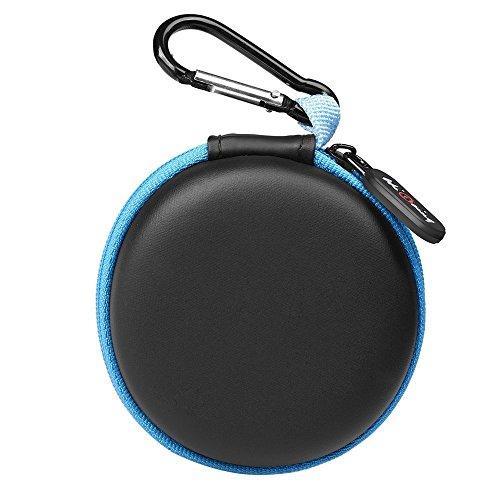 Mini Kopfhörer Tasche mit Schnalle, HiGoing Headset ohrhörer Schutztasche für In Ear Ohrhörer, MP3 Player, iPod Nano, Schlüssel, Lovely Macarons Aussehen (Innenmaß 6.8cm x 6.8cm x 4.0cm) - 2