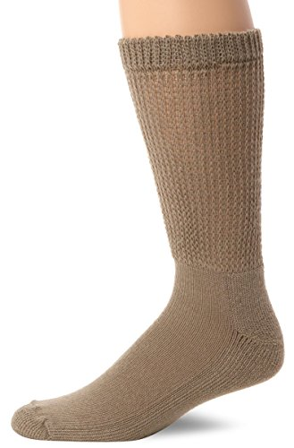 Dr. Scholl's Men's 2Pk Diabetes And Circulatory Dry Feet Crew Sock