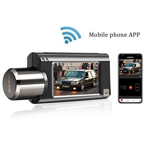 Auto fahren Recorder, Universal 1080P mit GPS-Navigation IPS-Touchscreen WIFI-Recorder HD Nachtsicht Dashcam Parküberwachung Bewegungserkennung - Sprint-gps