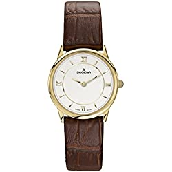 Dugena Women's Quartz Watch Dugena Basic 4460438 with Leather Strap