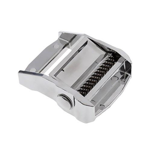 SunniMix Gurtschnalle Spanngurte Zurrgurte Schnalle aus hochwertigem Aluminium - Silber