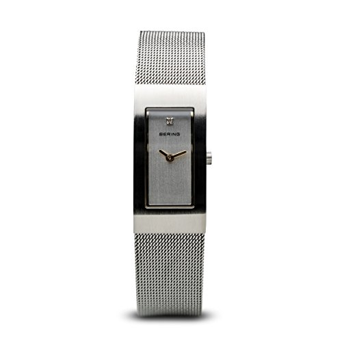BERING Damen-Armbanduhr Analog Quarz Edelstahl 10817-004