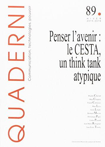 Un think tank atypique : Le centre d'études des systèmes et des technologies avancées, CESTA 1982-1986