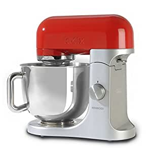 Kenwood KMX61 Macchina da cucina con accessorio grattugia AX643 e accessorio tritacarne AX950 inclusi, Rosso