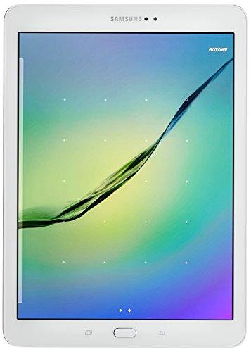 Samsung SM-T819NZWEXEO Tablet Android 5.0, 24,6 cm (9,7 Zoll) gold/weiß/schwarz