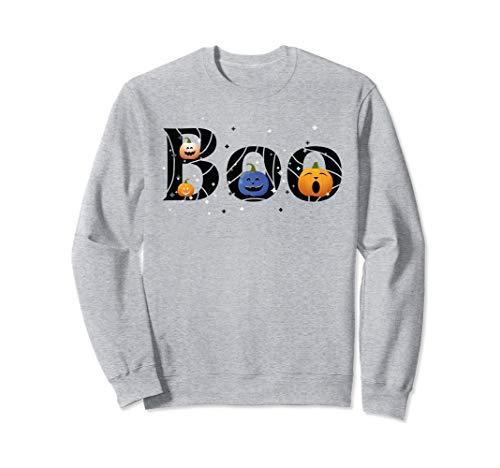 Schwester Und Kostüm Bruder Themen - BOO, lustige Kürbisse Mädchen Jungen Kinder Halloween Kostüm Sweatshirt