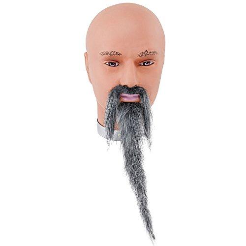 Bristol Novelty mb080Zauberer Bart und Schnurrbart Grau, One size