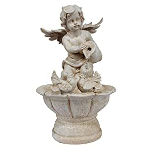 Wonderland Angel Fountain With Motor And Circulating Water, Waterfall, Water Fall, Fountains, Statue, Angels, Luck, Gift