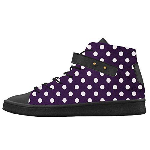 Dalliy polka dots Men's Canvas shoes Schuhe Footwear Sneakers shoes Schuhe (Herren-bay Justin)