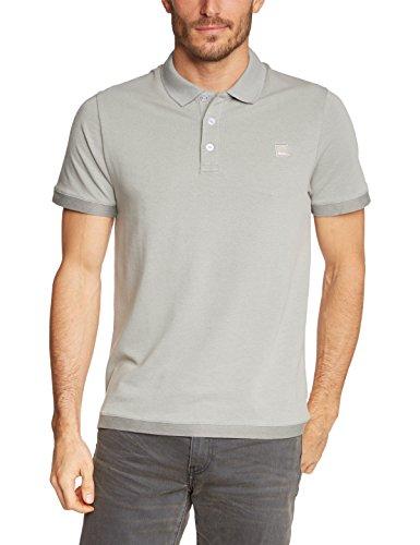 Bench - Poloshirt Modern, Maglia a maniche lunghe Uomo, Grigio (Griffin), Small (Taglia Produttore: Small) Grigio (Griffin)