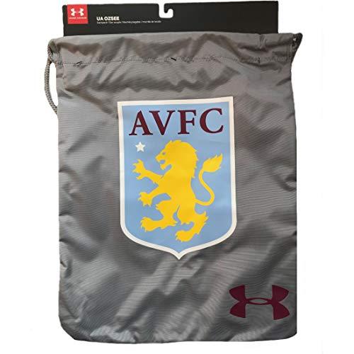 Under Armour 2017-2018 Aston Villa UA Gym Bag (Grey)