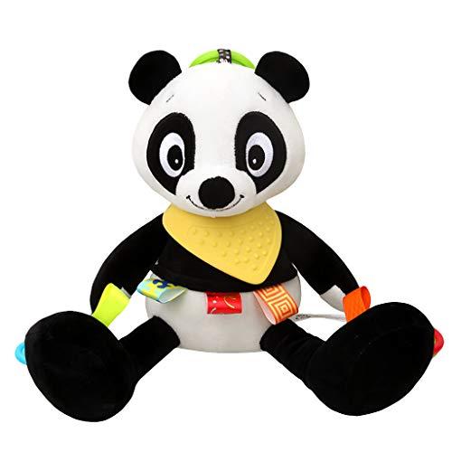 Mitlfuny Kinder Erwachsene Entwicklung Lernspielzeug Bildung Spielzeug Gute Geschenke,Baby Rasseln Plüsch mit Beißring niedlichen Tier hängen Bell Spiel Spielzeug Puppe