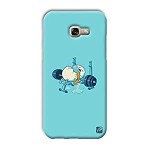yP Funny Egg Design Hard Back Case Cover for Samsung Galaxy A3 2017