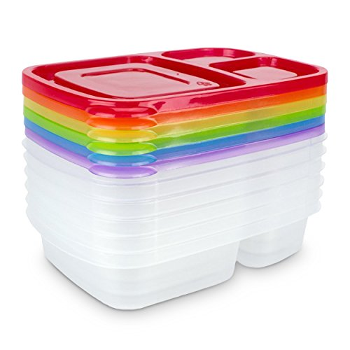 granrosi-lunchbox-6er-set-bunte-brotdosen-mit-3-separaten-fchern-mikrowellen-splmaschinen-tauglich