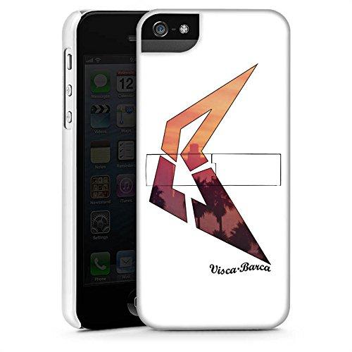 Apple iPhone X Silikon Hülle Case Schutzhülle Visca Barca Fanartikel Merchandise Visca98Barca Youtuber Premium Case StandUp