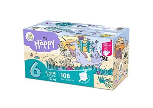 bella baby Happy Windeln Größe.6 Junior Extra, 1er Pack (1 x 108 Stück)