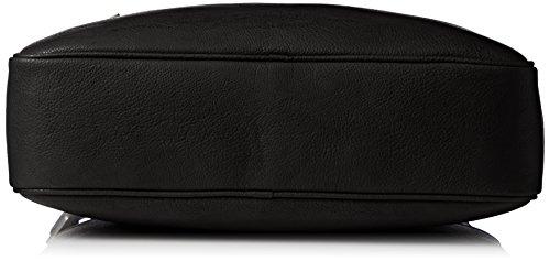 Tommy Hilfiger Herren Essential Umhängetaschen, 40x30x10 cm Schwarz (Black 002)
