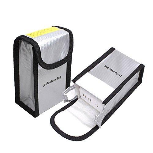 O'woda 1 Stück Feuerbeständige Explosionsschutz Lipo Batterie-sicherer Beutel-Hülsen-Lipo Battery Guard Tasche Sack Gebühren-Schutz-Tasche für DJI Phantom 4 / 3
