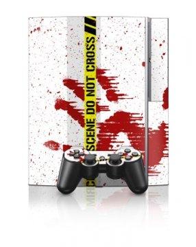 Playstation 3 - Skin Set - Crime Scene