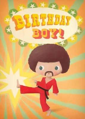 e - Karate Birthday Boy - By Stephen Mackey ()