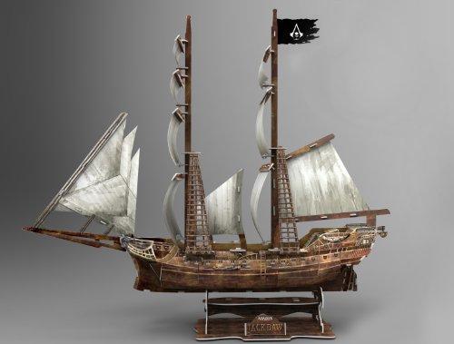 3d Flag (Assassin's Creed IV Black Flag 3D Modell Jackdaw)