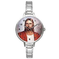 Idea Regalo - Timest - Gesù - Donna Acciaio Charms italiane orologio da polso Analogico Al quarzo BM0075